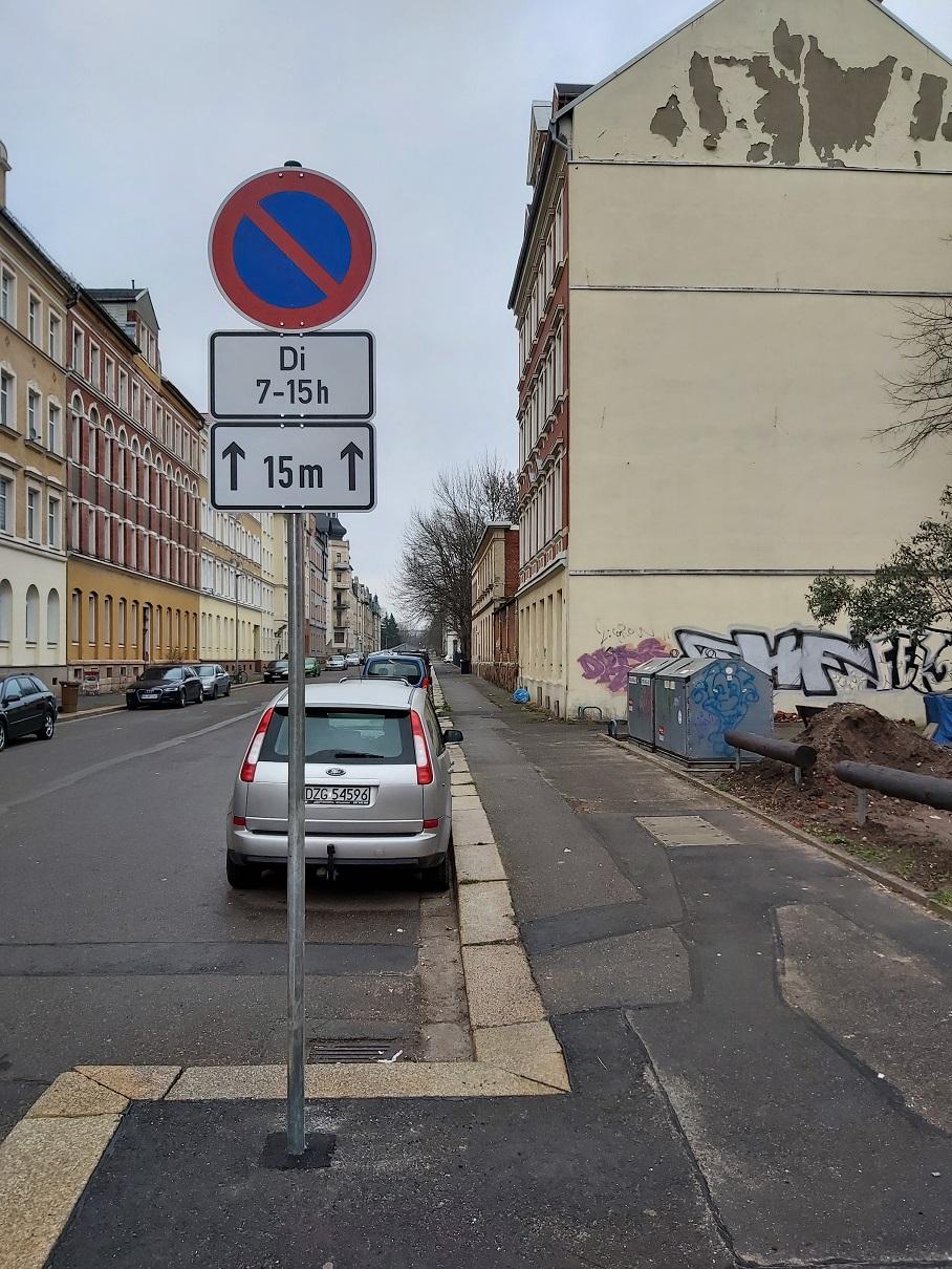 Schild für den Bürger